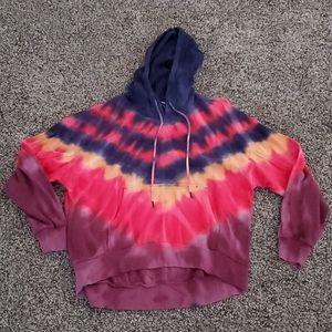 Wild fable tie dye hoodie